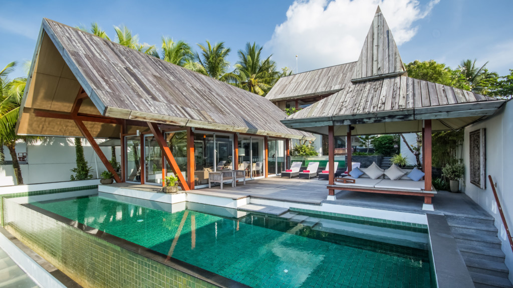 Where to Stay in Phuket with Kids, travel tips featured by top family travel blogger, Marcie in Mommyland: Laemsingh Villa 3