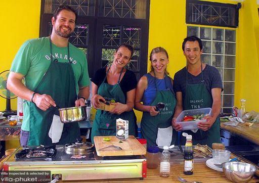 Organic Thai Cooking