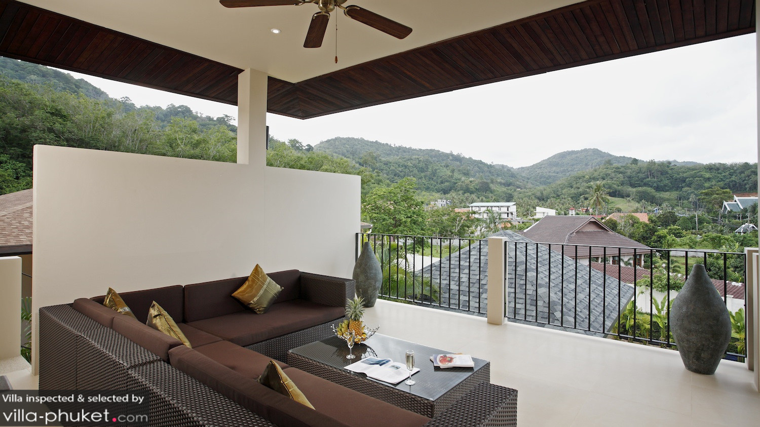 Villa jade in nai harn beach phuket 7 bedrooms for V villa 2 bedroom pantip